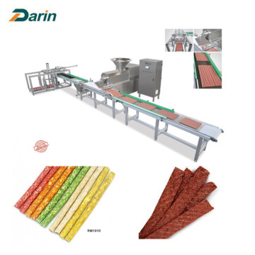 Auto Meat Strip Machine-traysysteem