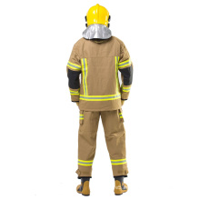 Uniforme estándar EN469 para bombero