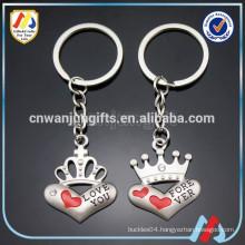 Couples Pair Keychain,Heart Keychain,Cute Keychain