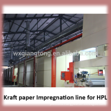 Impregnation production line / melamine paper machine/impregnation line for melamine paper