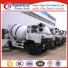 CHUFENG BRAND 4x2 6 metros cúbicos de caminhão misturador de concreto para venda