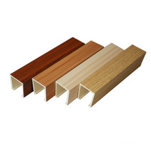 Hot stylish design easy installation wpc modern building material types of false ceiling board