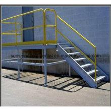 Qualitativ hochwertige verwendet industrielle Meatal vorgefertigte Stahltreppe