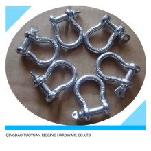 Us Type Drop Forged Bow Shackle
