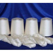 Soie filée brute de mûrier de 100% pour le tissage