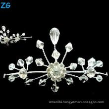 Luxurious small queen tiara, small hair tiaras and crowns, girls dance headpieces