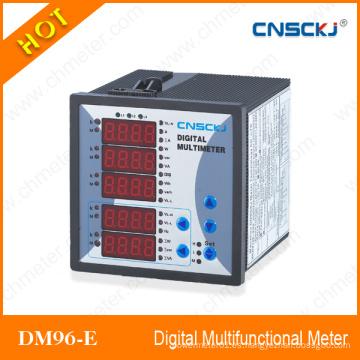 Dm96-E Medidor Multifunción Digital de Alto Grado