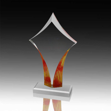 Clear Acrylic Retirement Awards en Trophy Online