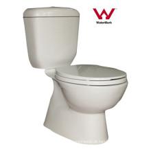 Sanitary Ware Banheiro Watermark duas peças de cerâmica WC (HZX-9971)