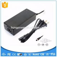 CE FCC ROHS SAA Tapón UL AC cc adaptador 100 240v 31v dc 2a Transformador de la fuente de alimentación