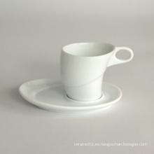 Juego de taza de café de porcelana (10CD13664)