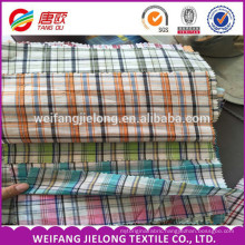 2016 High Quality Breathable Yarn Dyed Plaid 100 Cotton Fabric For T-Shirt 100% cotton yarn dyed checks fabric for T-Shirt