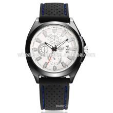 Pulsera impermeable clásica del reloj del silicón de la venda del wristband