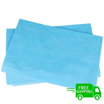 Free shipping 80*180 hospital 100pcs nonwoven bed sheet