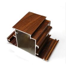 casement windows wood grain aluminum bulding materials