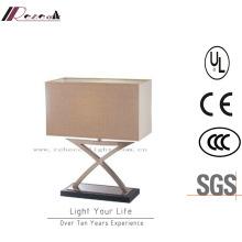 Contemporary Room New Design Nickel Hotel Table Lamp