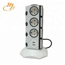Aparatos Protección contra sobretensiones Adaptador USB Enchufe vertical