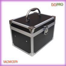 Colorful Small Designer Makeup Box with Mirror and Key (SACMC079)