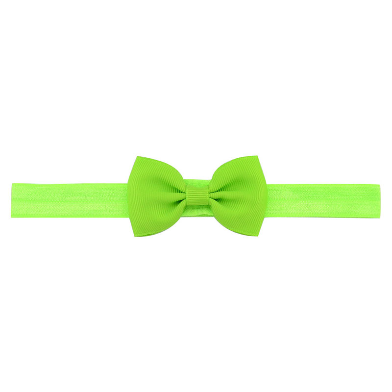 Hair Bow Green