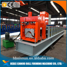 Tampão de cumeeira automática de metal personalizado rolo frio rolo dá forma à máquina