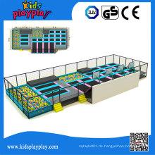 Kidsplayplay Kommerzielle Große Maßgeschneiderte Bungee Indoor Trampolin Park