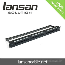 CAT6A patch panel For RJ45 /RJ11 Network Cabling Accessories