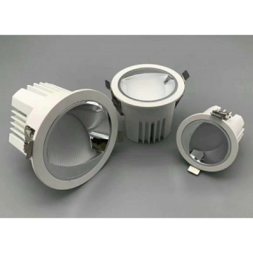 Downlight LED paysage blanc chaud 12W