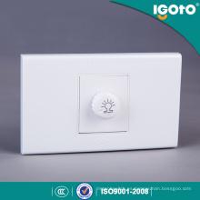 A1081 Interruptor del regulador de la banda del estándar 1 de la central eléctrica Interruptor de la pared del interruptor de la pared del interruptor de la luz eléctrica