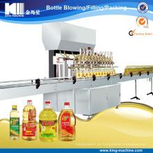 Línea automática de producción de aceite comestible / máquina de llenado