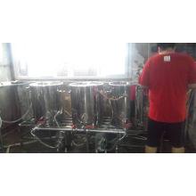 Нержавеющая сталь Пивоваренный резервуар для пива полный комплект