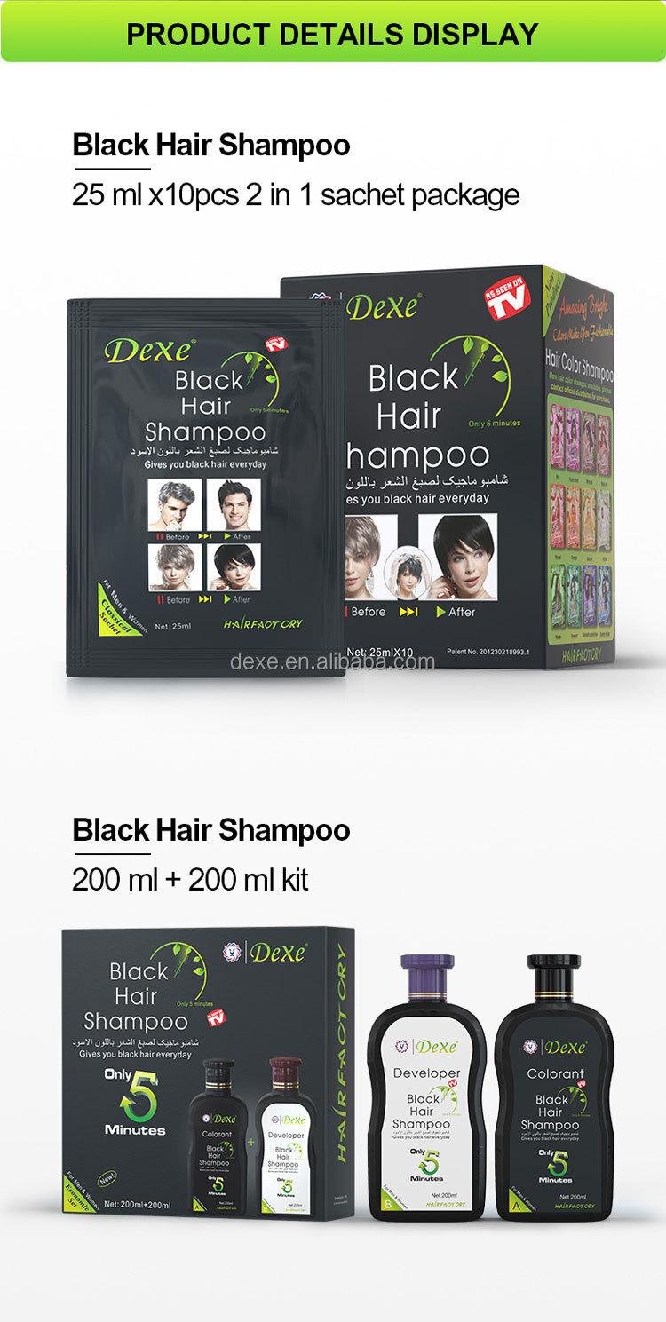 Fast Hair Blackening Shampoo, Dexe black hair shampoo, best hair dye brand