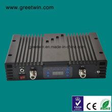 23dBm Lte700 Aws1700 repetidor doble de la señal de la impulsión de la venda (GW-23LA)