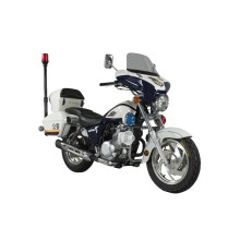 Moto 500cc à la police
