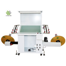 Rebobinadora automática de inspección de etiquetas