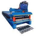 Aluminium Step Tile Roof Roll Forming Machine