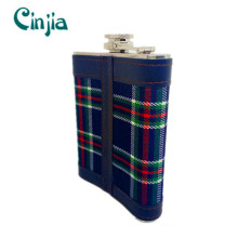 8 Oz High Quality Stainless Steel Wine Flask for Vodka