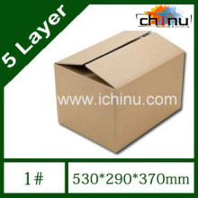 Five Layer Corrugated Paper Postal Box / Packaging Carton / Packing Paper Box (1293)
