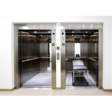 XIWEI Three Sides Stainless Steel Handrail Hospital Bed Elevator