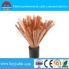 Кабель гибкого кабеля кабеля Yhf гибкого резиновый / PVC от порта Ningbo