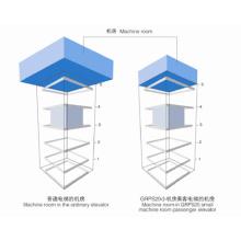 Sicher Elevator Grps20 Small Machine Room Passenger Elevator