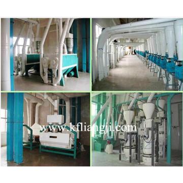 Мукомольная мельница (5-1000 т / сутки)
