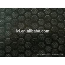 18 milímetros anti deslizamento película enfrentou fabricação de contraplacado para a construção