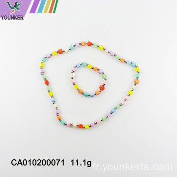 Collier Rainbow Candy Girl Bubble Gum