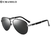 Polarisierte 80er Retro Retro Trendy Stilvolle Sonnenbrille für Männer, Frauen