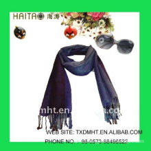 winter jacquard scarf with blend composition