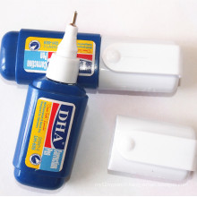 Stylo de correction liquide non-toxique rapidement sec de haute qualité Dh-809 Utilisation dans le bureau et l'école
