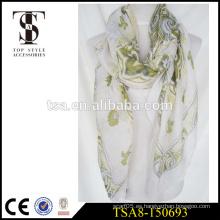 Bufanda caliente del rhinestone del arreglo de la bufanda 100 del poliester de la señora atractiva diaria de los accesorios
