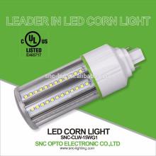 15W G24Q LED PL Lamp / G24 Base LED Corn Light / G24 2 Pin LED Bulb Light