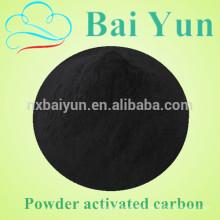 Carbono activado en polvo de madera para el tratamiento del agua