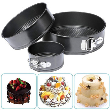 4/7/9 Inches Cheesecake Pan Set Auslaufsichere Kuchenform